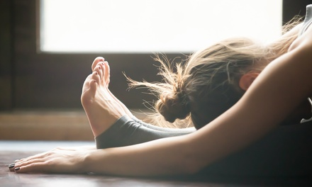 $16.50 for Unlimited Yoga Classes for Two Weeks at Breathing Room Yoga Center ($54 Value)