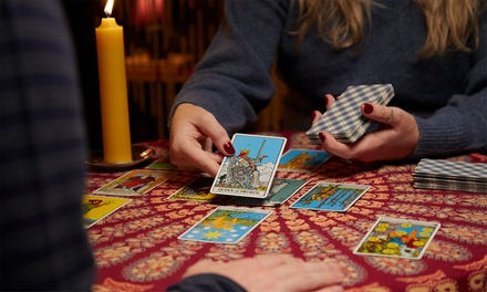 One Psychic with Optional Tarot Reading for One or Two from Goddess of Magi (Up to 57% Off)