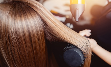 Hair-Styling Services from Karen & Rebecca at The Hair Color Company & Spa (Up to 47% Off). 3 Options Available