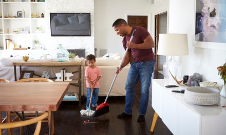 Two or Four Hours of House Cleaning with One Cleaner from Dream Team Cleaning Service (Up to 55% Off)