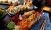 Sushi d'asporto - 50 o 100 pezzi