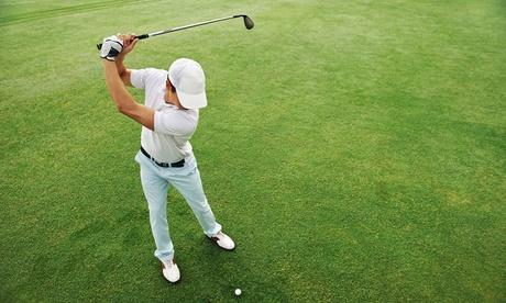 10 horas de clases de golf desde 59,95 € en El Campo de Tiro