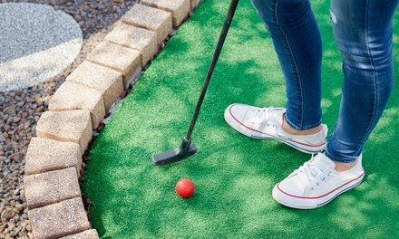 Two NineHole Games of Foot Golf for Up to Four at Highfields Park Adventure Golf