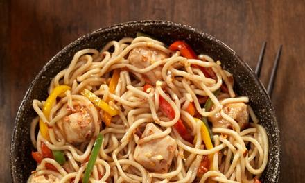 Menu cinese o italiano con vino