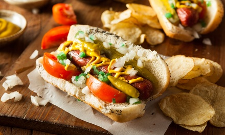 Up to 44% Off on Restaurant Specialty - Hot Dogs / Sausage at Broadway Mart-N-Diner