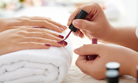 One Gel Manicure or Basic Pedicure with Paraffin for Hands and Feet at W Nails & Spa (Up to 32% Off)