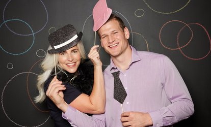 Two-, Three-, Four-, or Five-Hour <strong>Photo Booth</strong> Rental from Rockets Photobooths (Up to 87% Off)