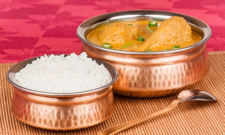 Punjabi Curry with Rice for Two or Four at The Pakora Bar