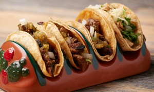 Up to 35% Off Tex-Mex Cuisine  at Sure Fire Tacos and Tortilla Grill, plus 6.0% Cash Back from Ebates.