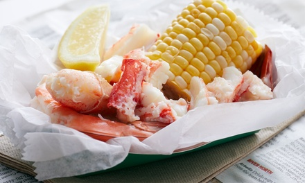 Seafood for Two or Four People at Seabird (Up to 40% Off)