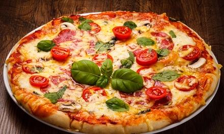 Menú para 2 o 4 con entrante, principal, bebida o botella de lambrusco desde 19,95 € en Pizzería Desi Café & Churros