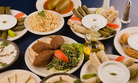 $14 for $20 Worth of Mediterranean Food and Drinks at Saffron