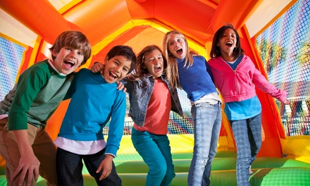 2Hr Inflatable Holiday Fun Entry: 1 $9, 2 $18, 3 $27 or 4 Kids Aged 5+ $36 @ The Centre Dural Up to $52 Value