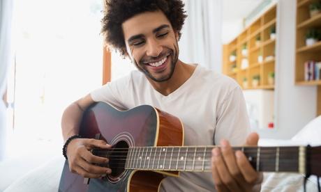 Korting Online gitaar , piano of zangles