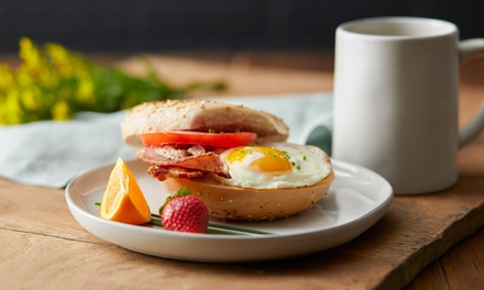 AllDay Breakfast or Lunch with Drinks for One $12, Two $22 or Four People $42 at OrSum Surf Cafe Up to $97.60