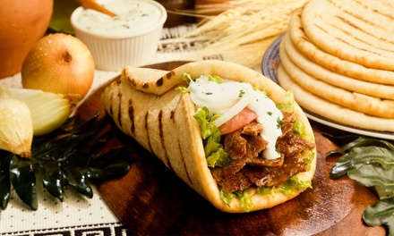 Food and Drinks at Shawarma King (Up to 40% Off). Two Options Available.