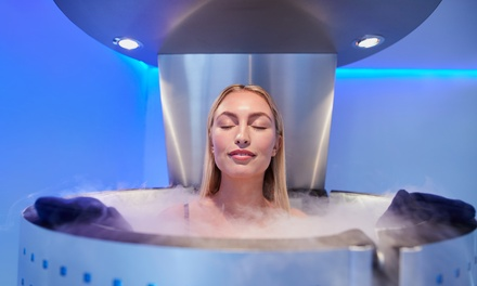 One, Three, Five, or Ten Whole-Body Cryotherapy Sessions at Recover Cryo Spa (Up to 60% Off)