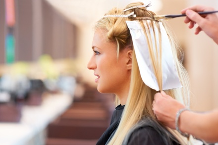 Olaplex Conditioning with Highlights at MAIA Salon Spa and Wellness (Up to 65% Off). Two Options Available.