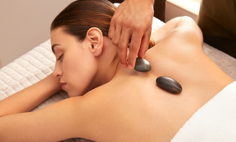 60- or 90-Minute Hot-Stone Massage with Exfoliation, Dry Brushing, and Essential Oil of Choice (Up to 34% Off)