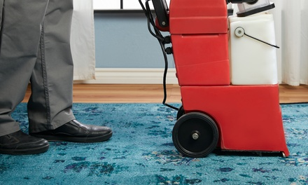 Carpet Cleaning: Up to 3 ($45), 4 ($59) or 5 Bedrooms ($75), or 5-Seater Sofa Clean ($89) from EMAB Cleaning Services