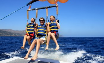 30% Off 800 Ft. Parasail Flight at California Parasail