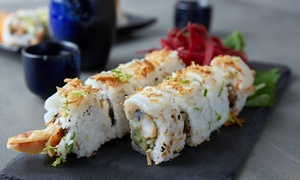 Up to 40% Off Japanese Food at Nishiki Sushi at Nishiki Sushi, plus 6.0% Cash Back from Ebates.