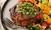 3-Gänge-Steak-Menü