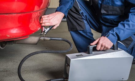 $18.99 for Emissions and Safety Check at Fast Lube Plus ($50 Value)