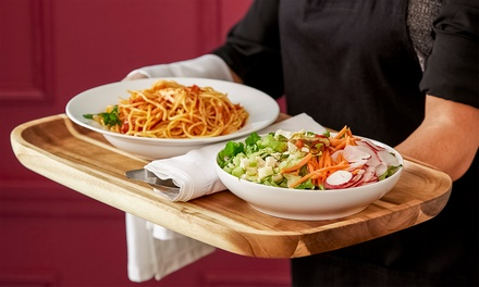 ThreeCourse Italian Meal with Glass of Wine for Up to Four at Lucarelli Restaurant