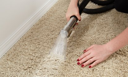 Carpet Cleaning for Up to Four Rooms and Hallway or Stairs from Authentic Five Star Cleaners (Up to 66% Off)