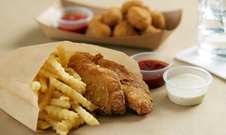 All-Day Fish and Chips + Soft Drink: 1 ($7.50), 2 ($15) or 4 People ($30) at Coastline Fish N Chips (Up to $49.20 Value)