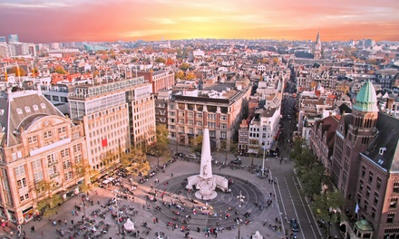 ✈ Amsterdam: 24 Nights at a Choice of Hotels with Flights*