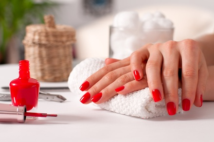 Gel Manicure with Optional Facial or Back Massage at Macushla Holistic Hub