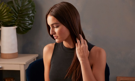 One or Two Silk-Press Treatments at Pink Extensions & Hair (Up to 50% Off)