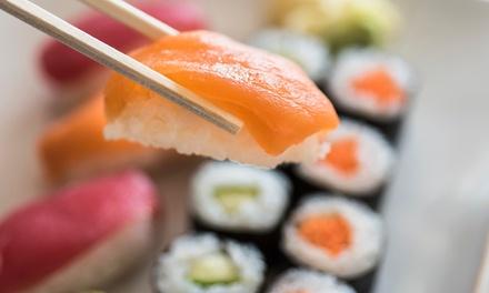 Sushi box da asporto a 19,90€euro