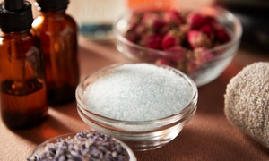 Up to $29 Off Salt-Soak or Body-Scrub Making at Salacia Salts at Salacia Salts, plus Up to 6.0% Cash Back from Ebates.