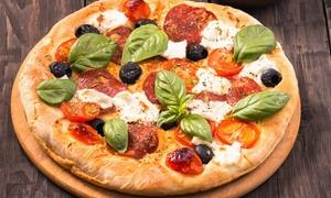 Pizza ou pâte au choix et boisson Marseille