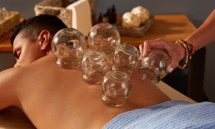 One or Three Cupping Sessions or One Sports Taping Session at Back To Motion (Up to 60% Off)