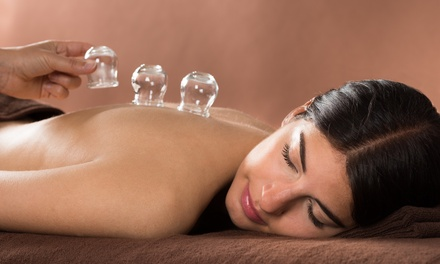 One or Three 30-Minute Cupping Sessions with Optional 30-Minute Massages at WL Wellness (Up to 52% Off)