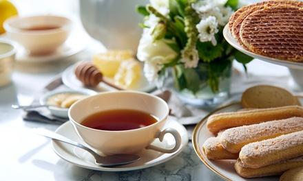 Vegan high tea voor 2 6 personen bij Tea Stories in Eindhoven