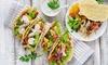 Tacos, dolce e bibita da asporto