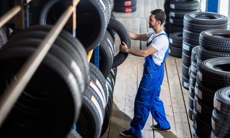 $59 for $100 Toward Purchase of Four New Tires at Tire Experts