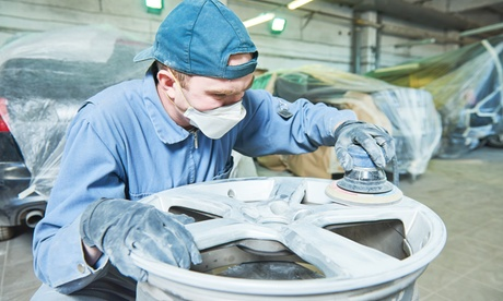 Up to 60% Off on Wheel Restoration - Car at I B Auto Sales