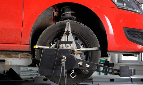 $58.09 for Two- or Four-Wheel Alignment at Discount Tire Center ($89.99 Value)