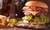 Burger nach Wahl + Pommes frites