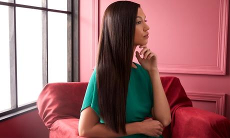 1 sesión de taninoplastia con masaje craneal y corte de puntas en Luluzita Beauty and Co (con 64% de descuento)