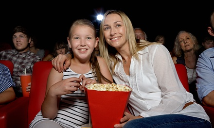 1, 2 o 4 entradas de cine con ración de palomitas de 55 gramos en Aficine (hasta 45% de descuento)