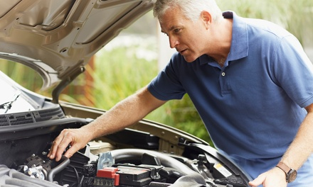 $49 for Major Car Service at AA Mobile Mechanic Up to $299 Value