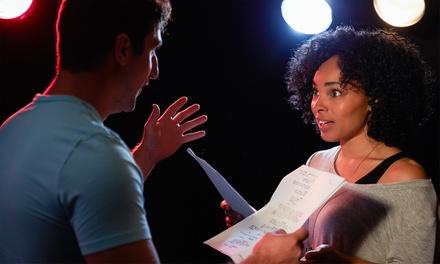 Coaching individuel d'1h pour apprendre à faire du théâtre et de l'improvisation à 29,90 €