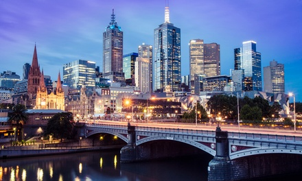 Melbourne CBD: One-Night Stay for Two with Late Check-Out at 4* Melbourne CBD Hotel